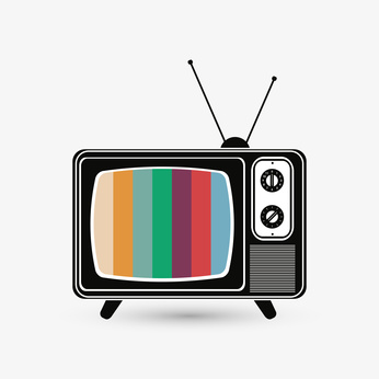 Tv concept with icon design, vector illustration 10 eps graphic.